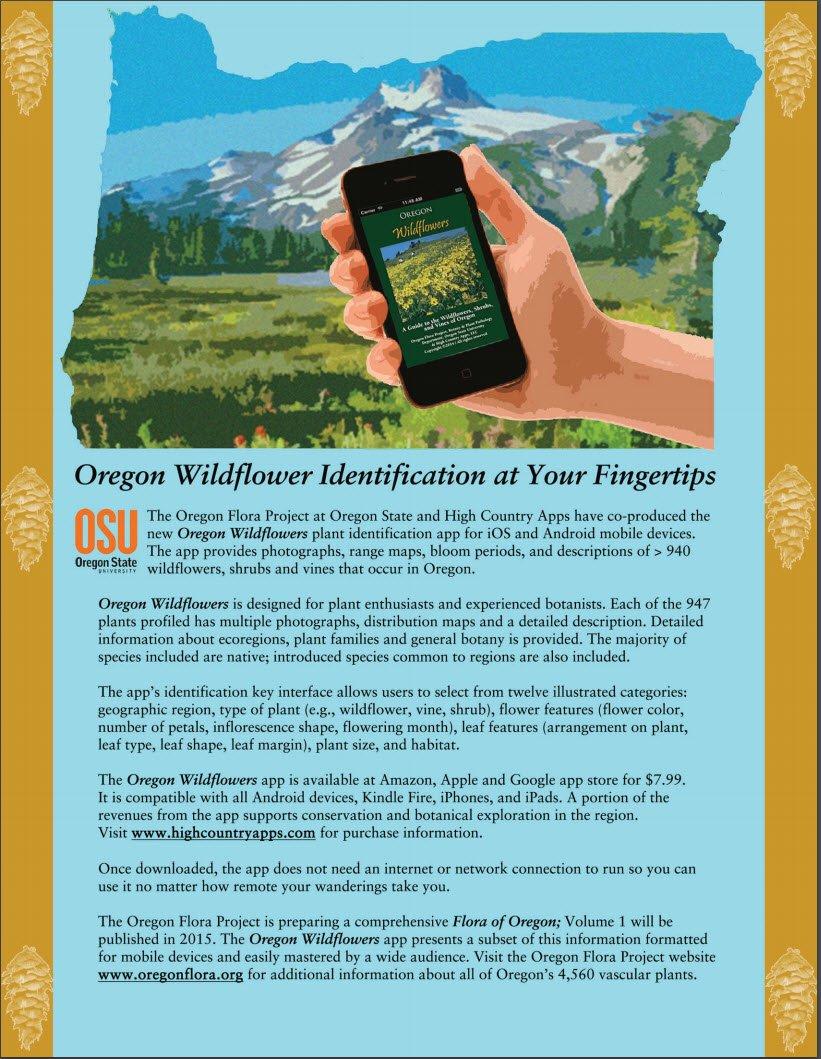 OSU Wildflowers App
